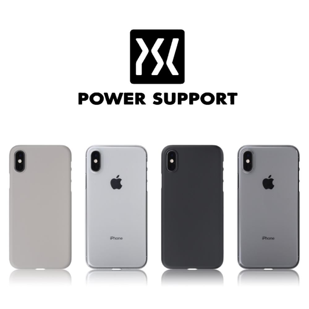 huge selection of da79d 3d634 POWER SUPPORT iPhone XS Air Jacket超薄保護殼 | 保護殼/皮套 | Yahoo奇摩購物中心