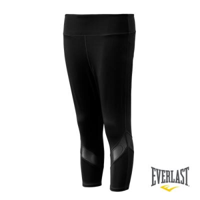 【EVERLAST】女款機能緊身七分褲-共兩色