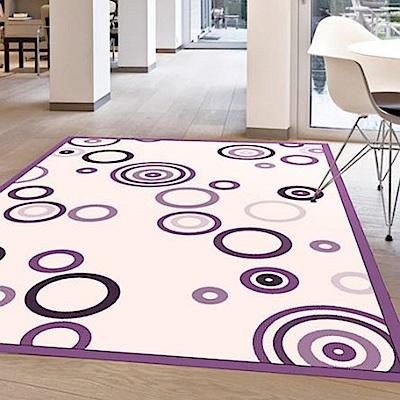 范登伯格 - 情語 典藏絲質地毯-幻圈 (中款-140x200cm)
