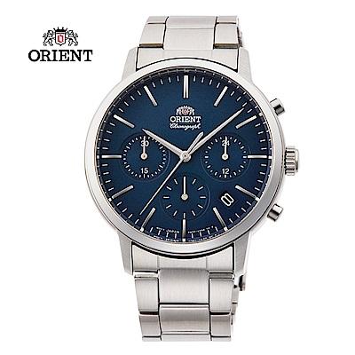 ORIENT 東方錶 Multi-eyes 運動系列 鋼帶款 藍色 RA-KV0301L