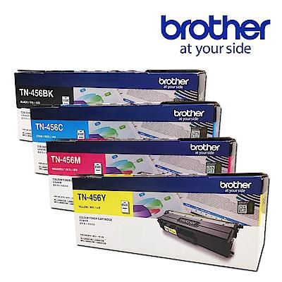 Brother TN-456BK/C/M/Y 原廠高容量碳粉匣(1黑3彩超值組)