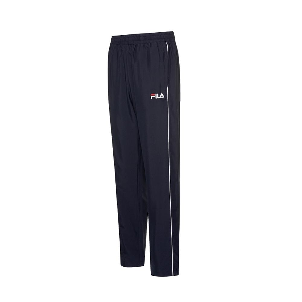 FILA 男風衣長褲-丈青 1PNV-1480-NV