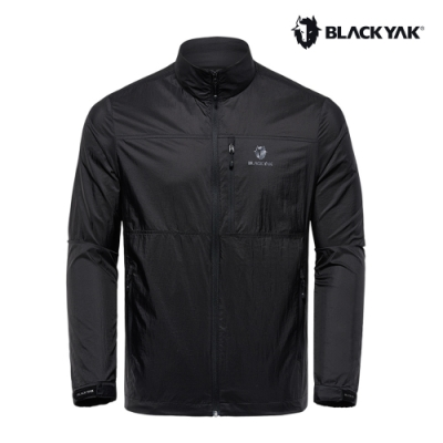 【BLACKYAK】男 LITE輕量防風外套[黑色]韓國春夏款