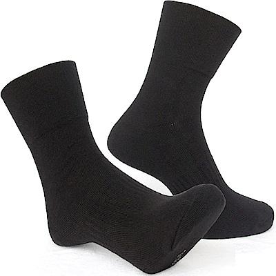 MIT 寬口無痕毛巾底中筒襪五雙 SE991