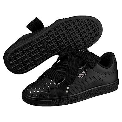 PUMA-Basket Heart Ath Lux女籃球運動鞋-黑色