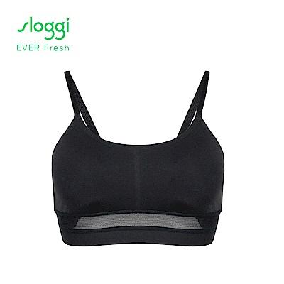 sloggi EVER Fresh系列 無鋼圈背心式內衣 經典黑