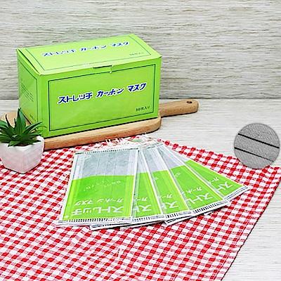 單片單包專業活性碳 口罩 100入/2盒(88340)