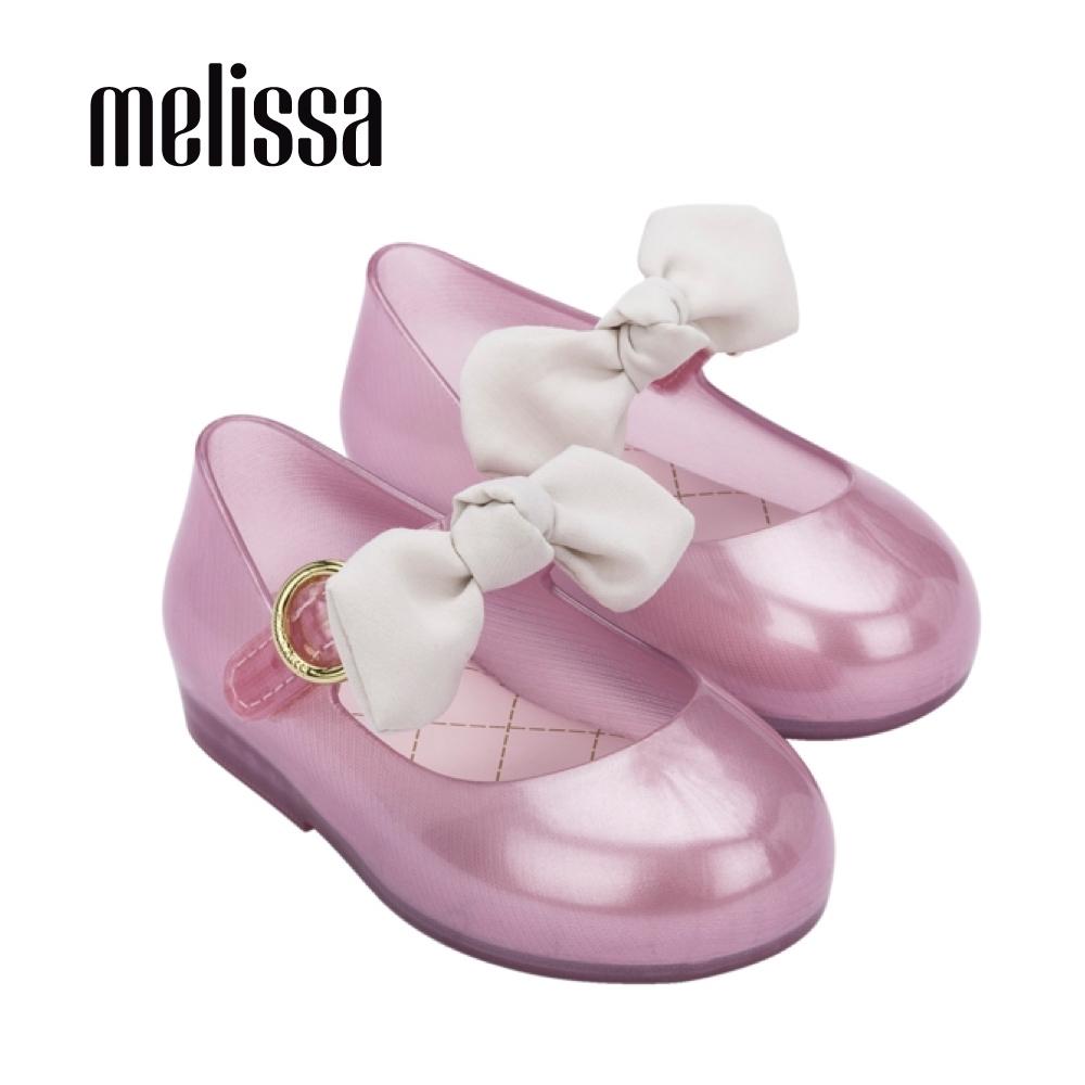 Melissa SWEET LOVE公主風蝴蝶結娃娃鞋 寶寶款-粉