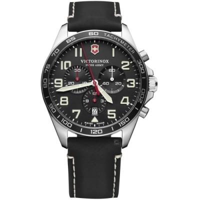 VICTORINOX瑞士維氏Fieldforce計時手錶(VISA-241852)