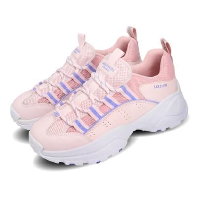 Skechers 休閒鞋 Kozmiks 1 老爹鞋 女鞋 厚底 增高 修飾 避震 緩衝 支撐 粉 紫 88888409PKLV