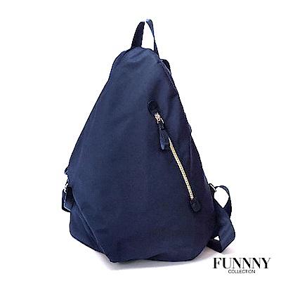FUNNNY 日本同步 防盜後背包系列 香月 優佳 藍