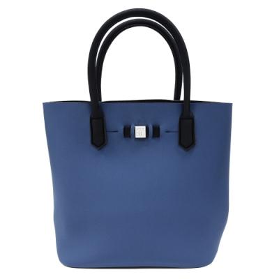 SAVE MY BAG 義大利品牌 POPSTAR系列 鯨藍色超輕量手提水桶包