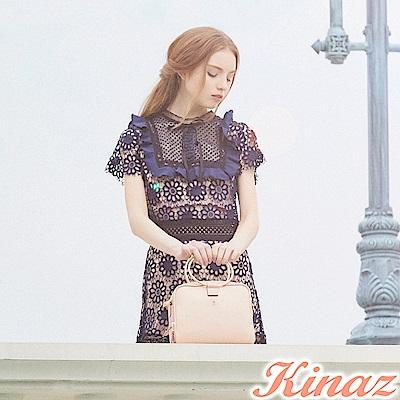 KINAZ 收藏美好兩用斜背包-浪漫粉-鑰匙系列