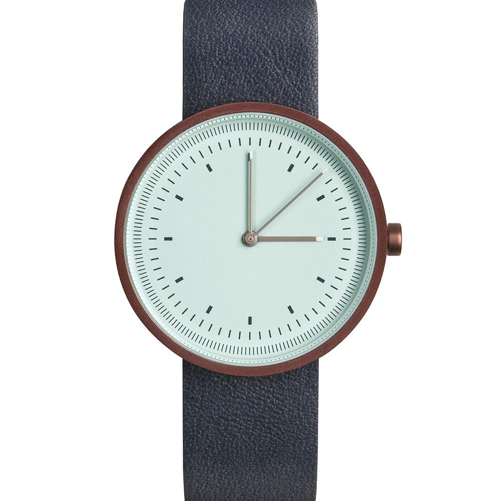 AÃRK 經典時光旅人真皮革腕錶 -蒂芬妮綠/36mm @ Y!購物