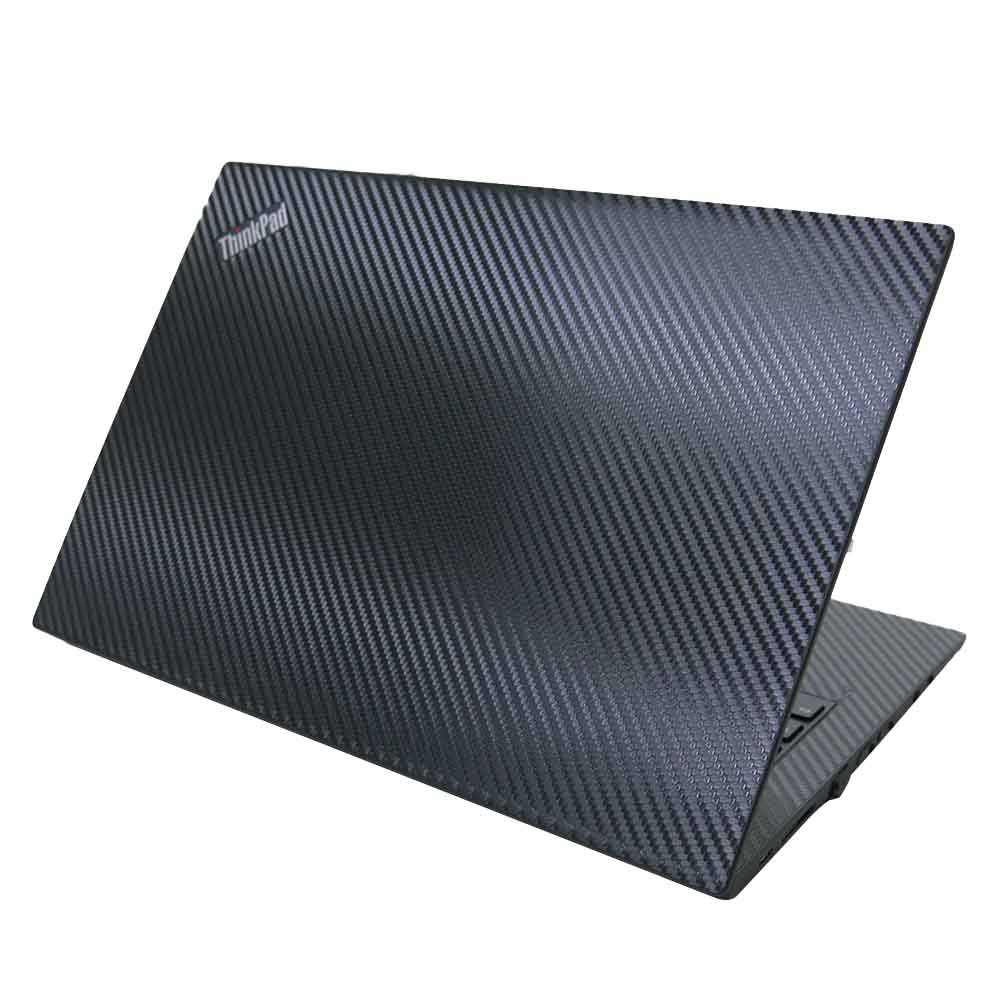 EZstick Lenovo ThinkPad T480S Carbon 黑色立體紋機身貼