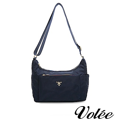 Volee好旅行系列隨行肩背包-英國藍