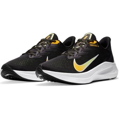 NIKE 慢跑鞋 緩震 訓練 健身 運動鞋 黑 男鞋 CJ0291007 ZOOM WINFLO 7