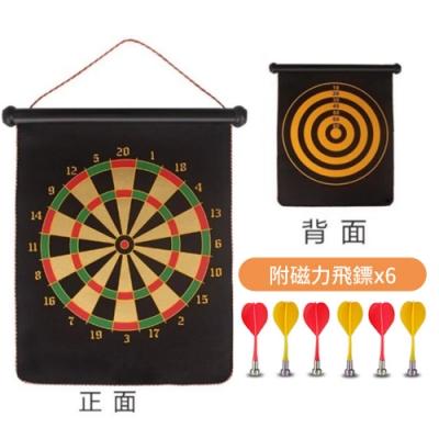 【桌遊團康玩具】桌遊 15吋 磁性雙面安全標靶 LA-1518