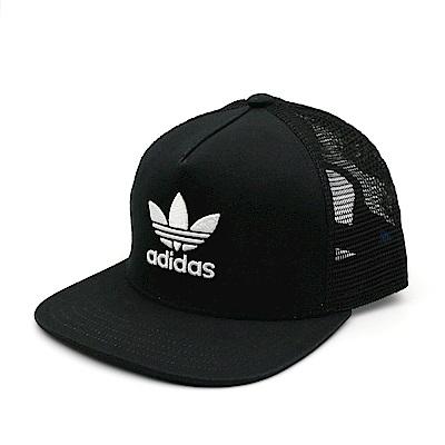 ADIDAS Directional 三葉草 logo 網帽-BK7308