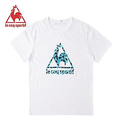 le coq sportif法國公雞牌短袖T恤 男女-白