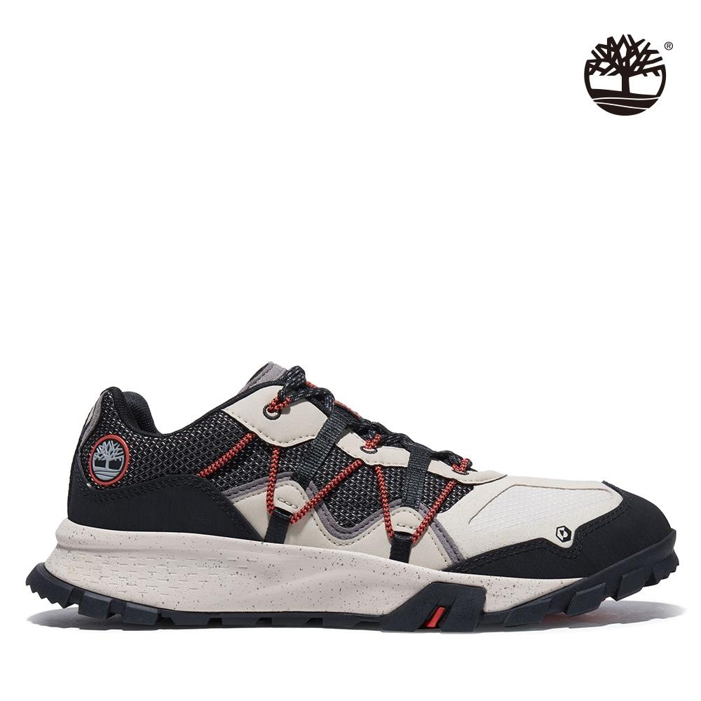 Timberland 男款黑白配色GarrisonTrail低筒健行鞋|A2A82