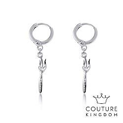 Disney Jewellery by Couture Kingdom小美人魚叉子白金耳環