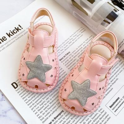 Swan天鵝童鞋-璀璨星星寶寶涼鞋1597-粉