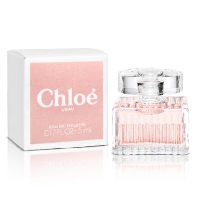 Chloe 粉漾玫瑰女性淡香水小香5ml