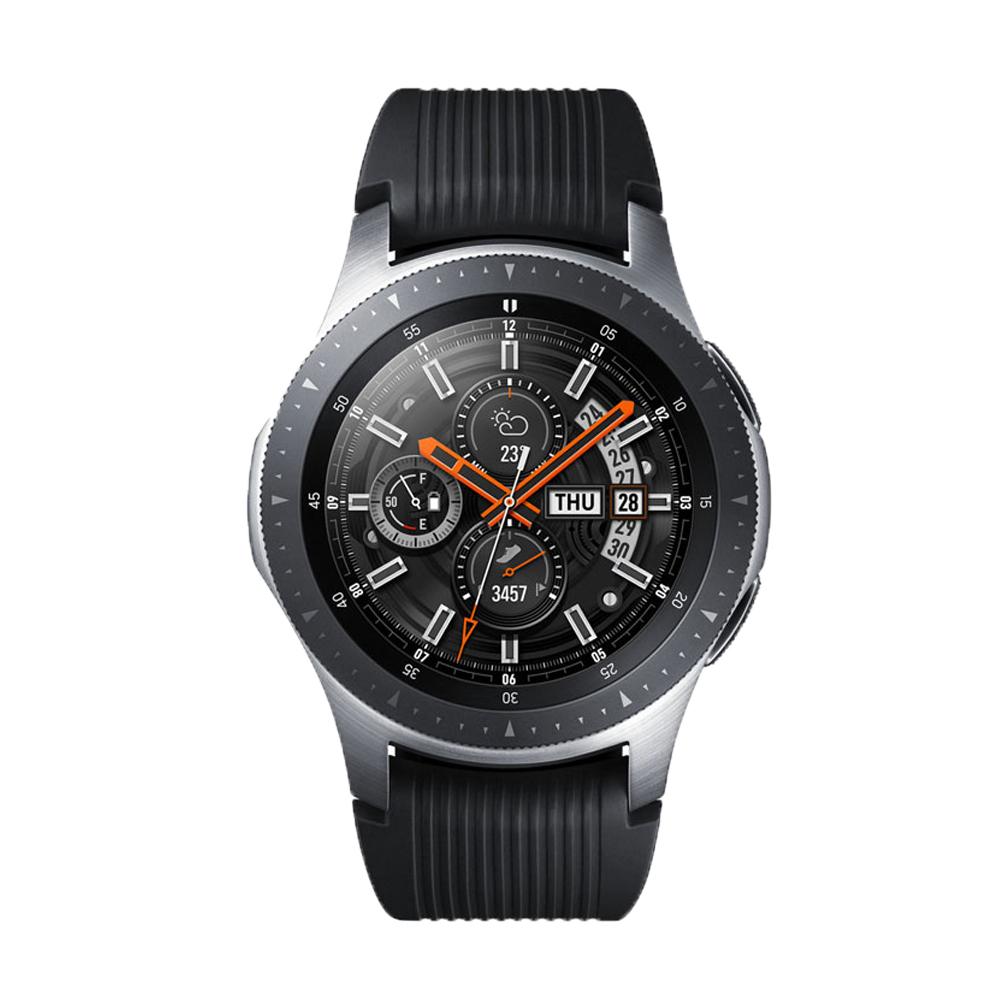 【藍牙版】Samsung Galaxy Watch 智慧型手錶 (46mm)-星燦銀 送原廠錶帶+藍芽自拍桿好禮組