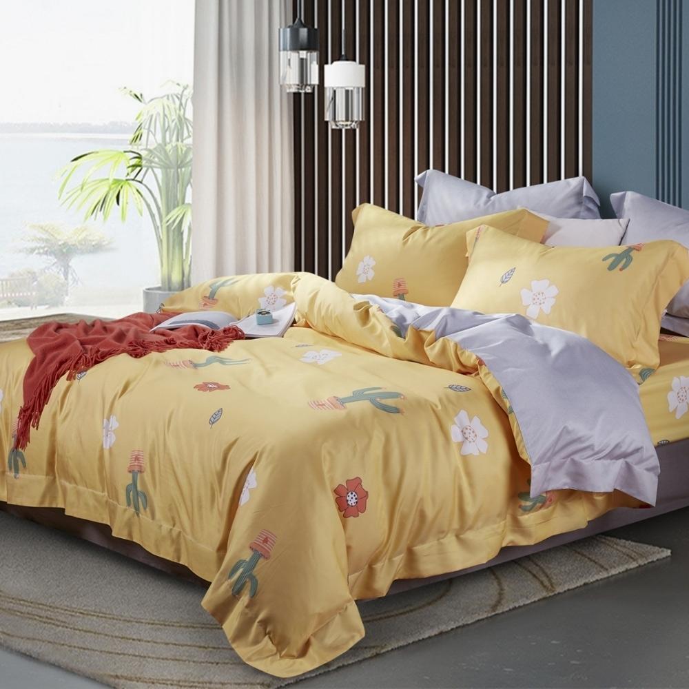 LAMINA 熱浪 天絲四件式兩用被套床包組 雙人