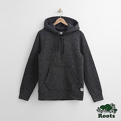 Roots 男裝- 連帽上衣-灰