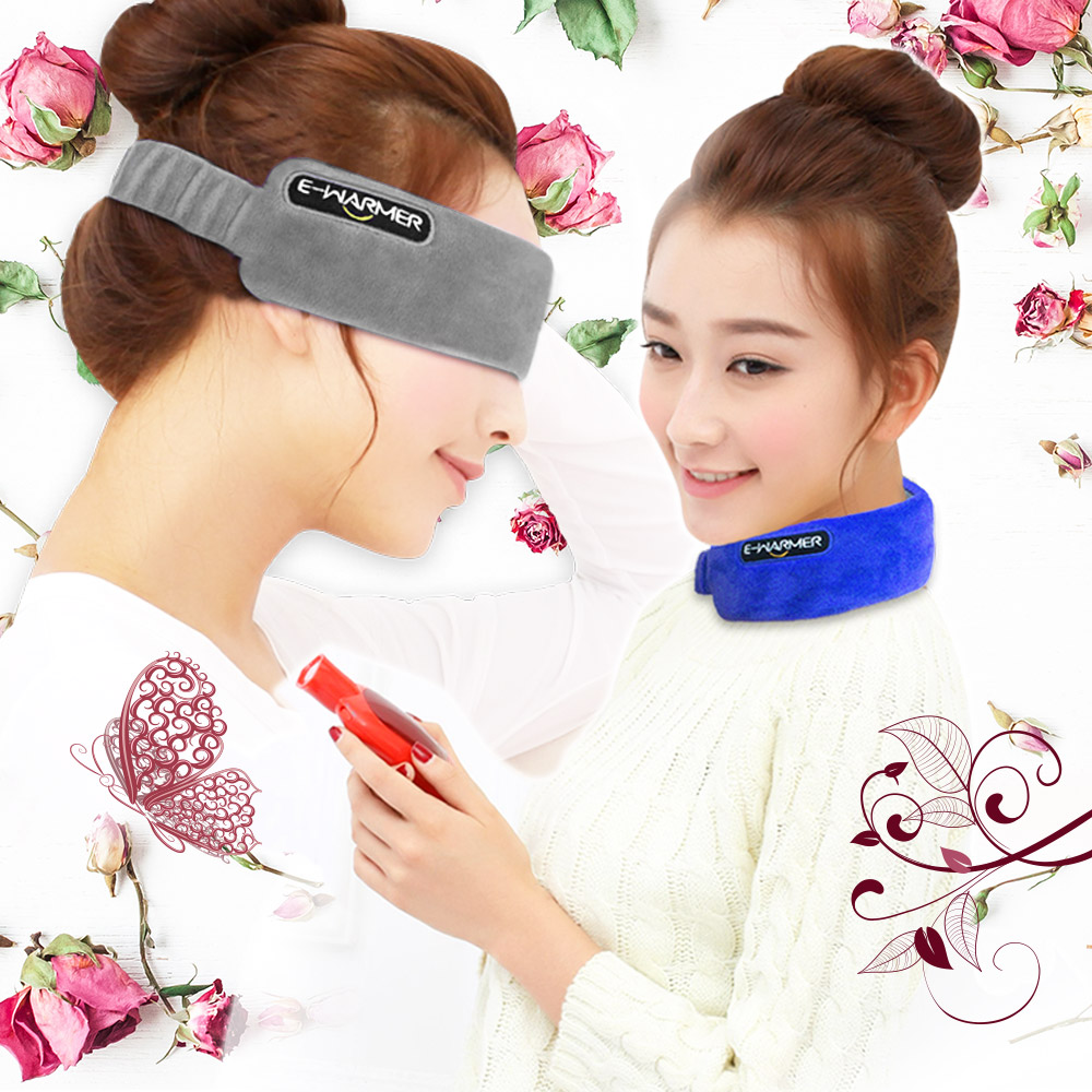 眼罩/脖圍 USB多功能雙效暖暖帶(調溫/定時)