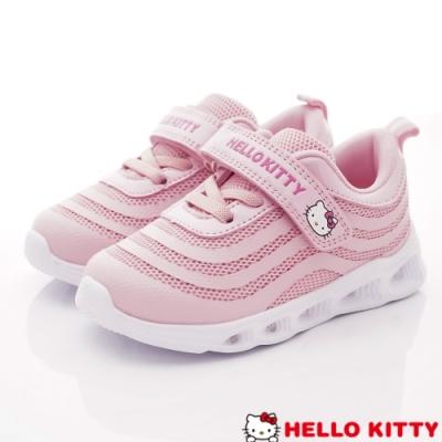HelloKitty童鞋 炫亮電燈運動鞋款 SE19863粉(中小童段)