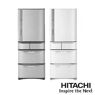 [無卡分期-12期]HITACHI日立 483公升 五門電冰箱 RS49HJ