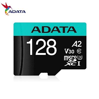 威剛 Premier Pro microSDXC UHS-I U3 A2 V30 128G