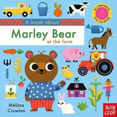 A Book About Marley Bear At The Farm 硬頁學習書