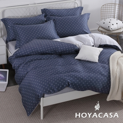 【HOYACASA 】特大抗菌天絲兩用被床包四件組-米蘭格調