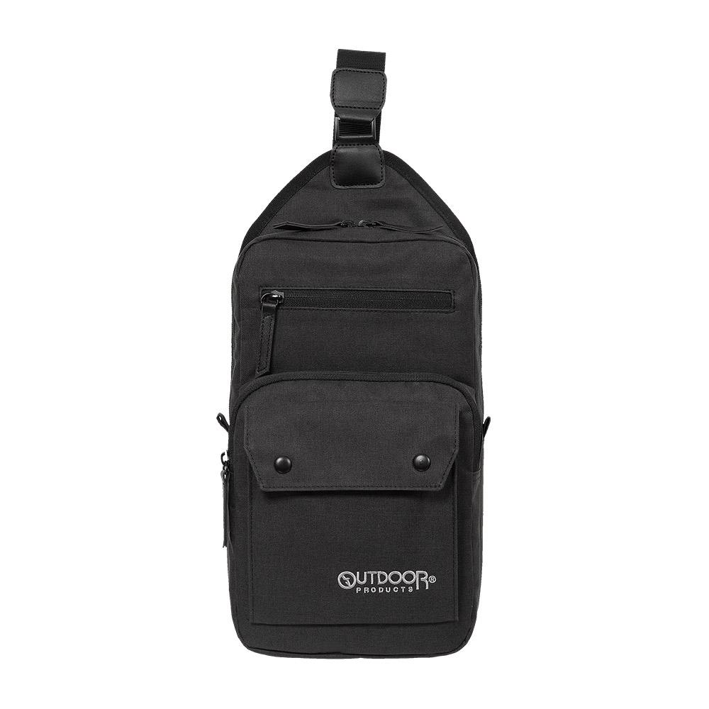 【OUTDOOR】單肩背包-黑色 OD191165BK