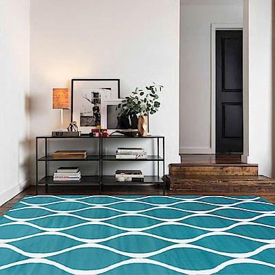 Ambience 比利時Shiraz 時尚地毯-藍海 160x230cm