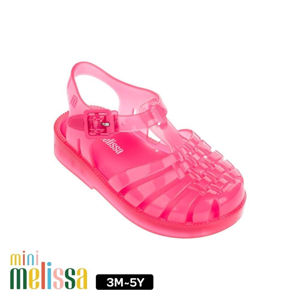 Melissa 【Baby】果凍漁夫鞋 桃紅