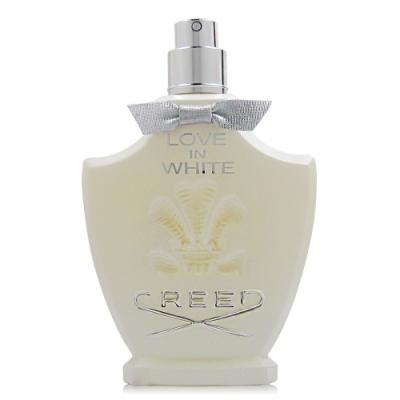 超值CREED LOVE IN WHITE 暮光淡香精 75ml tester 隨機贈同品牌針管2入