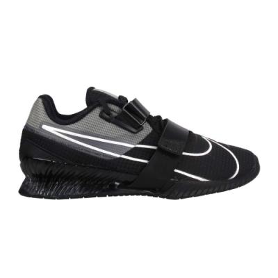 NIKE ROMALEOS 4 男舉重鞋-重量訓練 深蹲 蹲舉 CD3463010 黑灰白