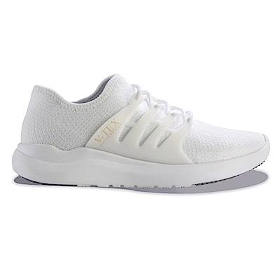 V-TEX 時尚針織耐水鞋/防水鞋 地表最強耐水透濕鞋-珍珠白(男)