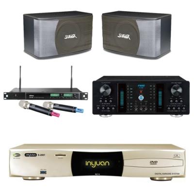 音圓N2A+FNSD A-350+SK-8610+ACT-589(伴唱機 4TB+卡拉OK套組)