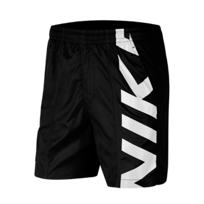 Nike 短褲 SB Skate Shorts 運動休閒 男款 滑板概念 膝上 寬鬆 穿搭推薦 口袋 黑 白 CI7348010