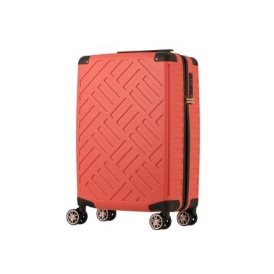日本 LEGEND WALKER 5204-49-19吋 PP輕量行李箱 珊瑚橘