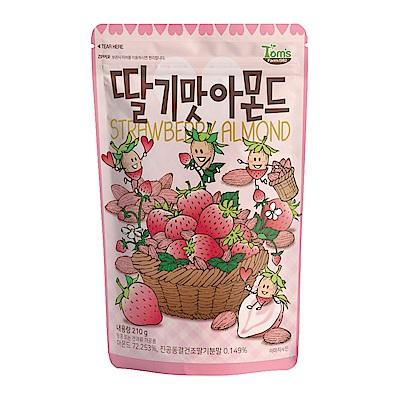 韓國Toms Gilim 杏仁果-草莓味(210g)