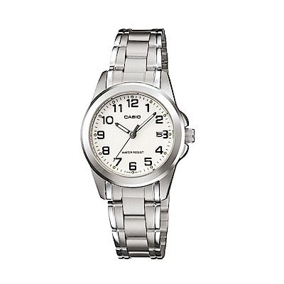 CASIO 時尚典雅淑女數字腕錶(LTP-1215A-7B2)28mm