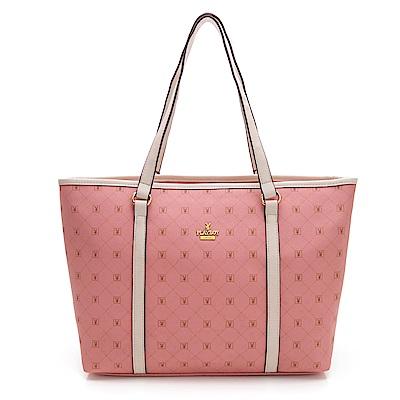 PLAYBOY- 托特包  Heritage-傳奇系列 -粉紅色