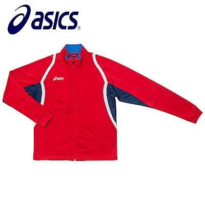 Asics 亞瑟士 男女針織外套 紅藏青 K11503-2350